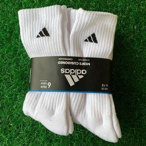 6 pairs socks set Adidas Cushioned Crew